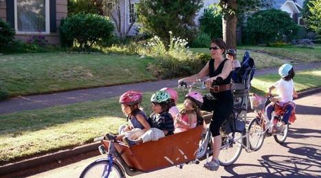 Vélo. Et si le cargo bike remplaçait la voiture ? | Fixies & Single | Scoop.it
