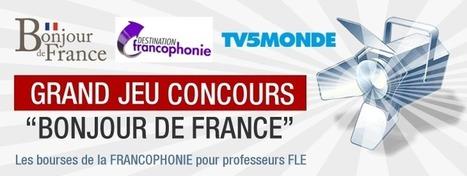 Grand jeu concours les Bourses de la Francophonie - Bonjour de France / Destination Francophonie | Frenchbook : news FLE | Scoop.it