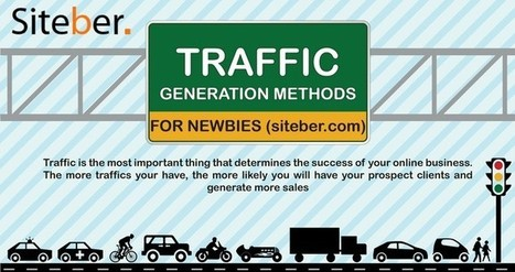 5 Proven Ways To Generate Traffic To Your Website | Siteber | Traffic Generation strategies | Scoop.it