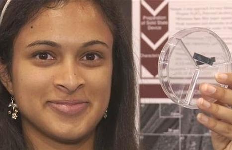 À 18 ans, elle invente un système innovant pour recharger un smartphone en 20 secondes | NUMERIQUE I GEEK | Scoop.it