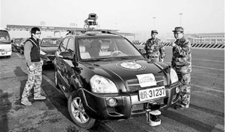 Chinese-made unmanned vehicle passes freeway test | KurzweilAI | leapmind | Scoop.it
