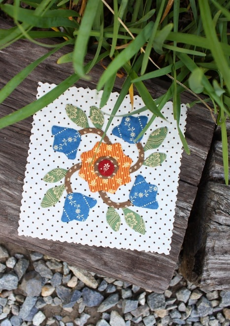 Temecula Quilt Company: Applique Block of the Month | Patchwork | Scoop.it