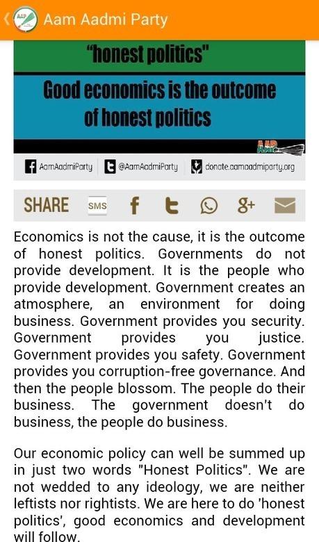 Tweet from @AAPMaharashtra | AAP-Livewire | Scoop.it