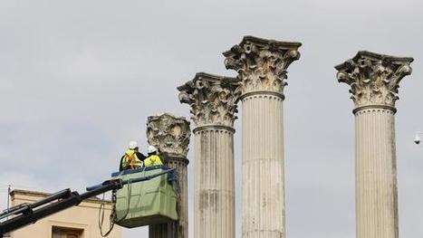 Las obras de mejora del Templo Romano de Córdoba durarán seis meses | Arqueología romana en Hispania | Scoop.it