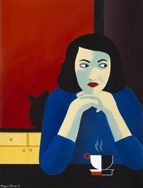 Portraits de femmes, par Marjane Satrapi | Merveilles - Marvels | Scoop.it