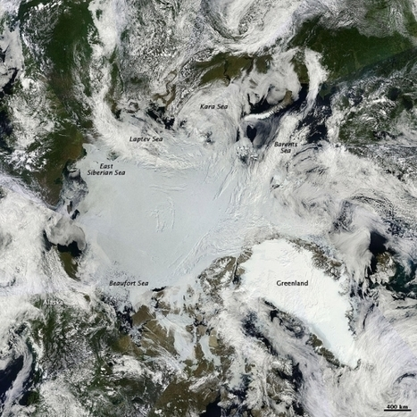 """2015 Arctic Sea Ice: How Low Will It Go? (""""the melting goes on & 2015 may set another record low"""")   Climate & Clean Air Watch   Scoop.it"""