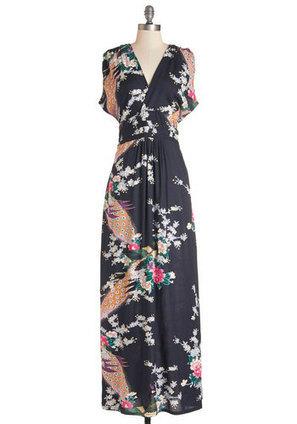 Feeling Serene Dress in Evening   Mod Retro Vintage Dresses   ModCloth.com   Fashion Zone   Scoop.it