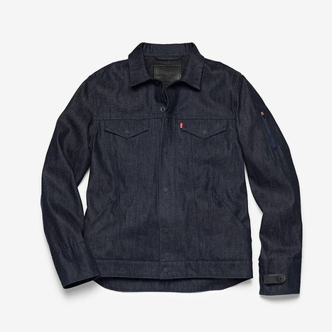 Google and Levi's unveil new interactive jacket for cyclists   qrcodes et R.A.   Scoop.it
