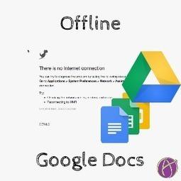 Google Docs: Turn On Offline Access - via Alice Keeler | Resources for Teachers | Scoop.it