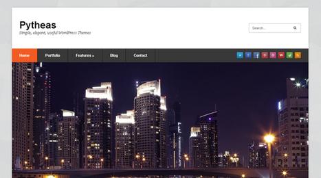 Pytheas, WordPress Free Portfolio Theme   WP Download   Hello!e   Scoop.it