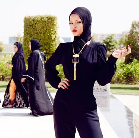 Rihanna Does Abu Dhabi | A Voice of Our Own | Scoop.it