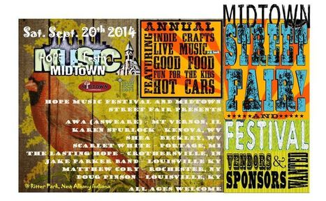 Hope Music Festival and Midtown Street Fair | Belief that every family deserves to feel whole--mind, body and soul. | Scoop.it