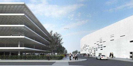 Floirac : 962 places de parking pour la future grande salle de spectacle | BMA - Bordeaux Métropole Aménagement | Scoop.it