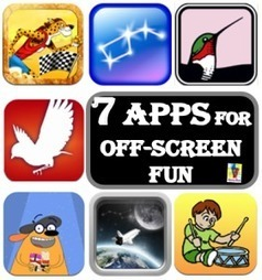 Off Screen with App: 7 Apps for Off-screen Fun iGameMom iGameMom | App and website Development Services and Technology | Scoop.it