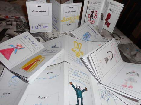 Des minis-livres à dessiner | CaféAnimé | Scoop.it