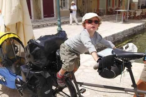 Voyager à vélo avec un enfant ? Oui, c'est possible !   Voyager malin !   Scoop.it