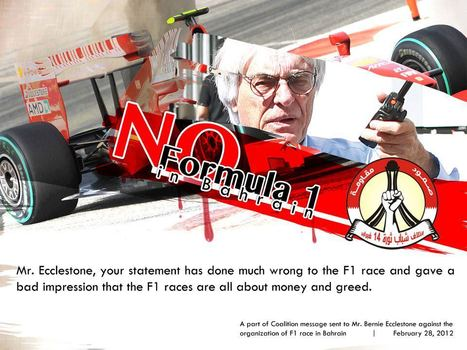 No Bahrain F1 ! | Human Rights and the Will to be free | Scoop.it