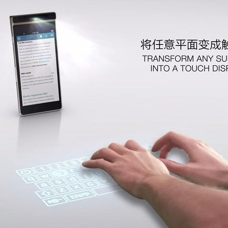 Lenovo's 'Smart Cast' phone projects a keyboard onto your desk   News we like   Scoop.it