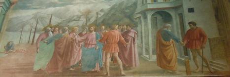 SEÑOR DEL BIOMBO: Tributo de la Moneda, Masaccio. Capilla Brancacci. Florencia | Recursos TIC para las Ciencias Sociales | Scoop.it