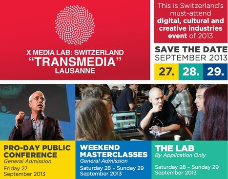 Lausanne 2013: City Seeing & Transmedia Conference @ECAL_CH | Cismedia. The Trans-Anti. | Scoop.it