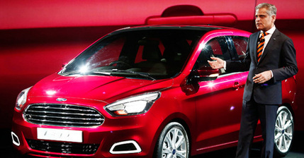Ahead of Auto Expo, Ford unveils Figo Concept car - Business Today - Business News | checkcarin | Scoop.it