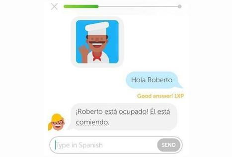 Practice Your Spanish (French Or German) With Duolingo's New Chatbot | dataInnovation | Scoop.it