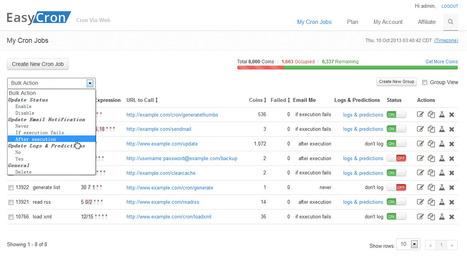 Free Cron Jobs   Online Webcron Service - EasyCron.com   Project Management and Quality Assurance   Scoop.it