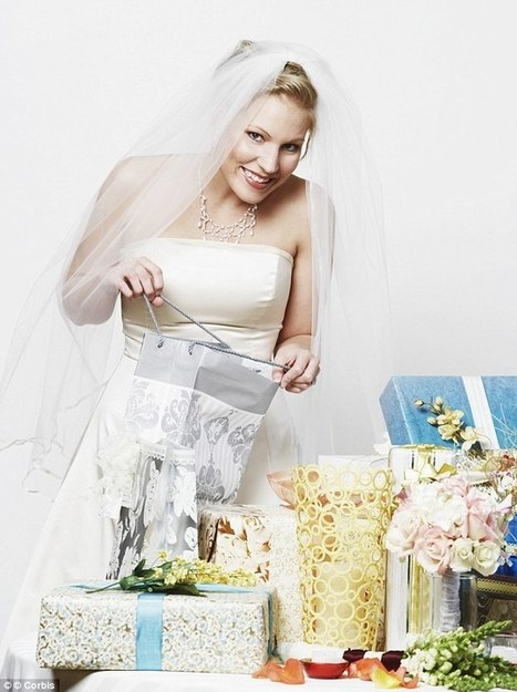 Half of guests give newlyweds belongings from their own HOME | Kickin' Kickers | Scoop.it