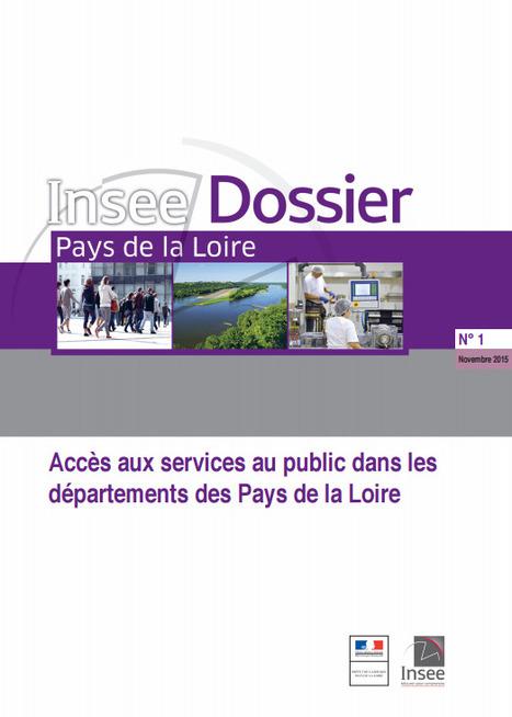 Insee > Accès aux services au public dans les départements des Pays de la Loire | Observer les Pays de la Loire | Scoop.it