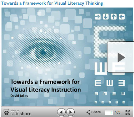 Towards a Framework for Visual Literacy Learning - David Jakes | 21st Century Information Fluency | Scoop.it