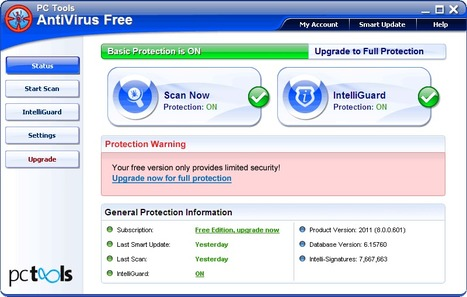 PC Tools AntiVirus Free 2012 v9.0.0.888 | ICT Security Tools | Scoop.it