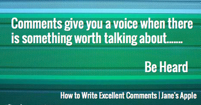 How to Write Excellent Comments | Sell Handmade Online | Scoop.it