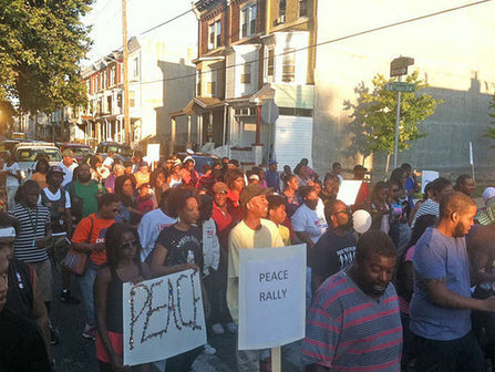 AllinPhilly News: Crowd March For Peace In Point Breeze (Philly) | Philly News | Scoop.it