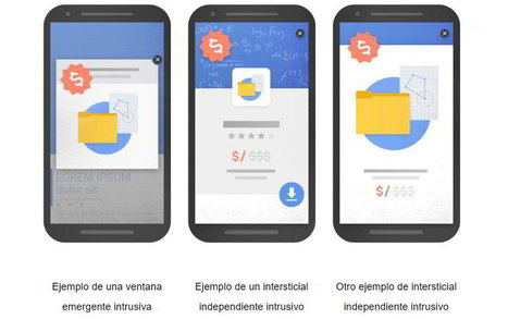 Más penalizaciones en los resultados de Google para sitios web con banners intrusivos | El Mundo del Diseño Gráfico | Scoop.it