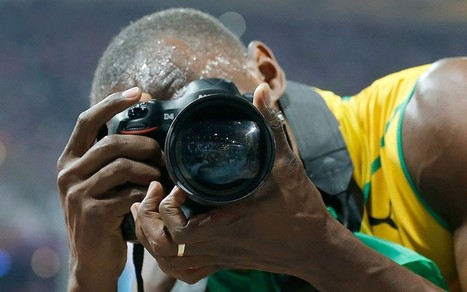 Usain Bolt takes his own olympic photographs | What's new in Visual Communication? | Scoop.it