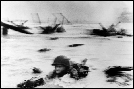 How The Iconic D-Day Photos Were Almost Lost Forever | smartphone photography | Scoop.it