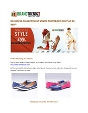 Exclusive collection of women footwear's only at Rs 499/-   Casual men shoes   Scoop.it