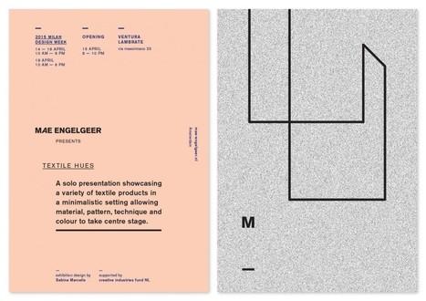 Milan design week 2015 | Studio Mae Engelgeer | TextielMuseum | Scoop.it