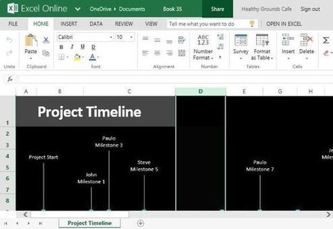 How To Easily Create Project Timeline in Excel | Microsoft Access Training | Scoop.it