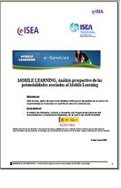 Análisis prospectivo de las potencialidades asociadas al Mobile Learning | Universo Abierto | Learning & Mobile | Scoop.it