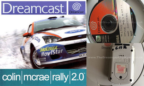 Colin McRae Rally 2.0 exhumé sur Dreamcast | Geek in your face | Scoop.it