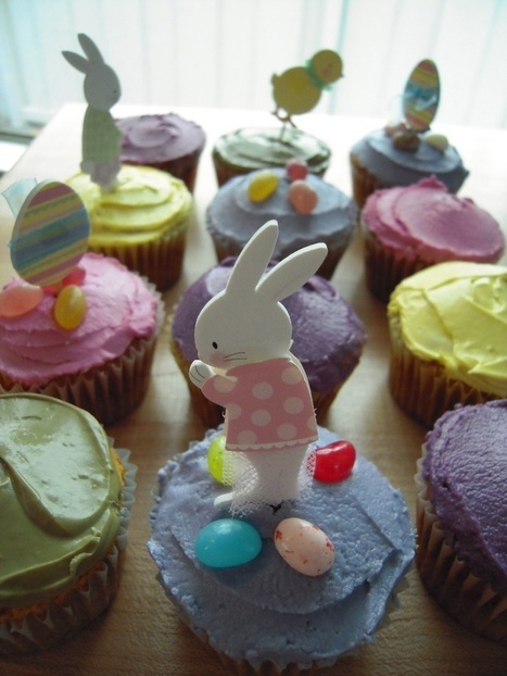 Allergen-free Easter Cupcakes : they look bad for you but they are 100% natural! | Top Allergen-Free Food and Activities | Scoop.it
