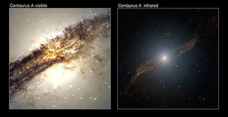 """The """"meal"""" of Centaurus A 