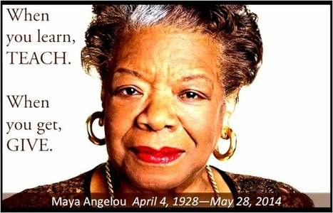 10 Essential Maya Angelou Quotes on Emotional Intelligence | Social Media, Memetics, and Cognitve Science | Scoop.it