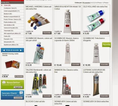 Racitiarte: Mondo-artista.it (gioie e dolori): recensione negozio on line | RacitiArte | Scoop.it