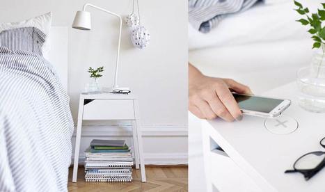Et si un meuble Ikea suffisait pour recharger votre iPhone ? | Web information Specialist | Scoop.it