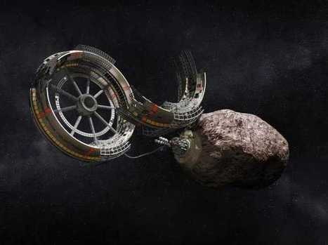 Mining Company Will Use 3D Printer To Turn Raw Asteroids Into Valuable Metal Parts | 3D printing and touch-free motion control are the wave of the future for manufacturing. | Scoop.it