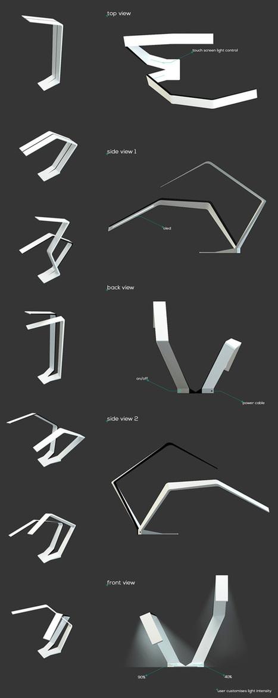 SplitLamp by Predrag Vujanovic » Yanko Design | TotalDesign | Scoop.it