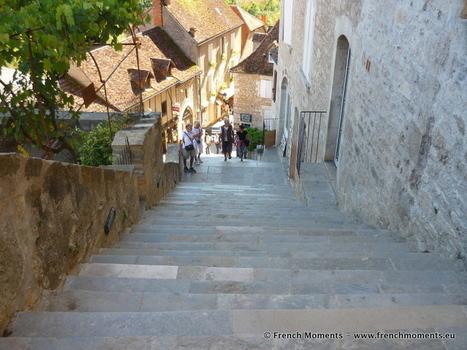 Le Grand Escalier de Rocamadour | Autour de Carennac et Magnagues | Scoop.it