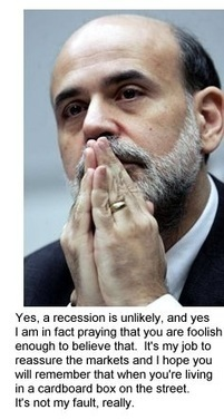 """oftwominds-Charles Hugh Smith: Bernanke Breaks Down: """"This Whole Thing Is a Kleptocracy"""" 